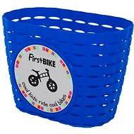 FirstBike košík modrý