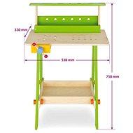 Simba Dřevěný pracovní stůl