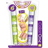 Style me up - Sada 3 v 1 zeleno/fialová