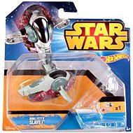 Mattel Hot Wheels - Star Wars Kolekce hvězdných lodí Boba Fett's Slave I