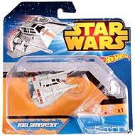 Mattel Hot Wheels - Star Wars Kolekce hvězdných lodí Rebel Snowspeeder