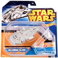 Mattel Hot Wheels - Star Wars Kolekce hvězdných lodí Millennium Falcon