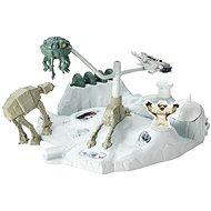 Mattel Hot Wheels - Star Wars hrací set s hvězdnou lodí Hoth