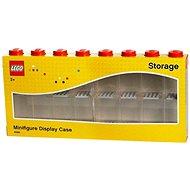 LEGO Sběratelská skříňka na 16 figurek - červená