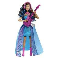 Mattel Barbie - Rock and Royals Zpívající Rock Star s kytarou
