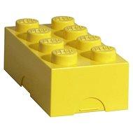 LEGO Box na svačinu 100 x 200 x 75 mm - žlutý