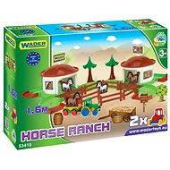 Wader - Koňský ranč s doplňky 3D
