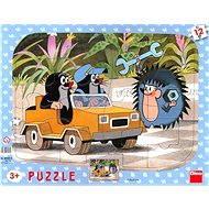 Deskové puzzle - Krteček a autíčko