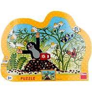 Kontura puzzle - Krteček s hrníčkem
