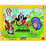 Deskové puzzle - Krteček zahradník