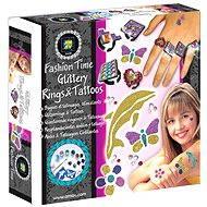 Fashion Time - Výroba třpytivých prstýnků a tetování
