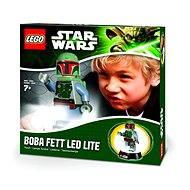 LEGO Star Wars Boba Fett baterka a noční lampa