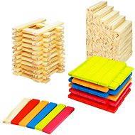 Dřevěné kostky 200 ks
