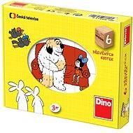 Dino Dřevěné puzzle - Pohádky