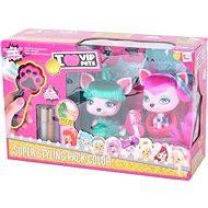 VIP Pets - Mazlíčci Yuko a Gigi s kadeřnickými doplňky