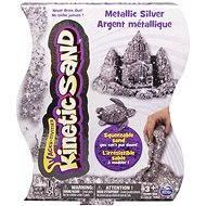 Kinetický písek - 454 g Metalic stříbrná