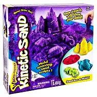 Kinetický písek - Box 454 g fialová barva