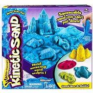 Kinetický písek - Box 454 g modrá barva