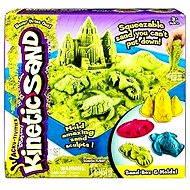 Kinetický písek - Box 454 g zelená barva