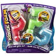 Kinetic Foam - Multi pack (červená, modrá, zelená)