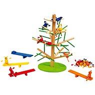 Dřevěné hry Strom skřítků a Skákající opičky