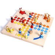 Dřevěné hry - Člověče nezlob se, zvířátka