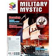 Třívrstvé pěnové 3D puzzle - Historická plachetnice loď Mystic
