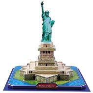Třívrstvé pěnové 3D puzzle - 3D Socha svobody