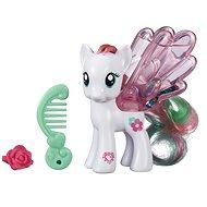 My Little Pony - Průhledný poník Blossomforth s třpytkami a doplňkem