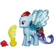 My Little Pony - Poník Rainbow Dash s průhlednými křídly a doplňkem