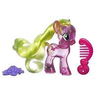 My Little Pony - Průhledný poník Flower Wishes s třpytkami a doplňkem