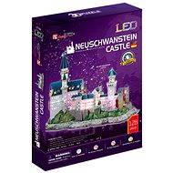 LED Puzzle 3D - Zámek Neuschwanstein