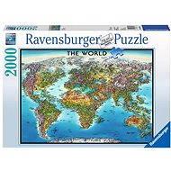 Ravensburger Mapa světa