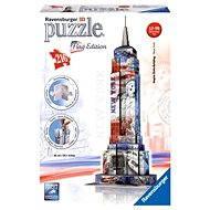 Ravensburger 3D Puzzle - Empire State Building, vlajková edice