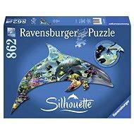 Ravensburger Tvarové Puzzle - Delfín