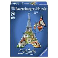 Ravensburger Tvarové Puzzle - Eiffelova věž, Paříž