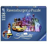 Ravensburger Tvarové Puzzle - Skyline, New York