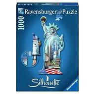 Ravensburger Tvarové Puzzle - Socha Svobody, New York