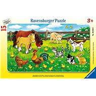 Ravensburger Zvířata ze statku na louce
