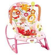 Mattel Fisher Price - Růžové sedátko od miminka po batole