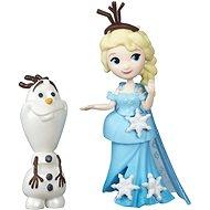 Ledové království – Malá panenka s kamarádem Elsa a Olaf