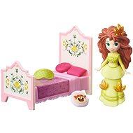 Ledové království - Malá panenka Rise a Anna s postelí