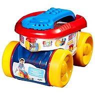 Mattel Fisher Price Mega Bloks - Zábavný sběrač kostek žluto/červený