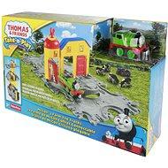 Mattel Mašinka Tomáš - Přenosná herní sada II McColl's Farm Tile Tracks