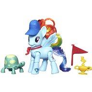 My Little Pony - Poník Rainbow Dash s kamarádem a doplňky