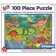 Dlouhé podlahové puzzle - Dinosauři