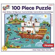 Dlouhé podlahové puzzle - Piráti