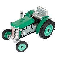 Kovap Traktor na klíček zelený