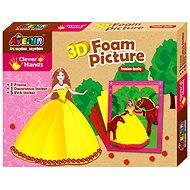 Pěnové 3D obrázky - Princezna