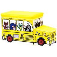 Bino Krteček - Krabice na hračka Autobus